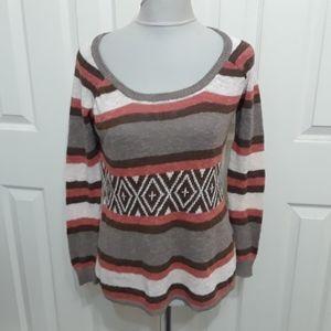 Eternal Sunshine Creations Orange Brown Sweater